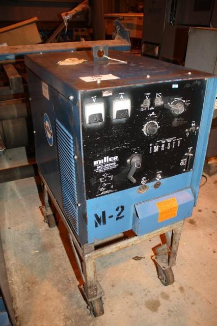1 - PREOWNED MILLER DC ARC WELDING POWER SOURCE,<br>MODEL #: MC300VS, S/N: JF909899