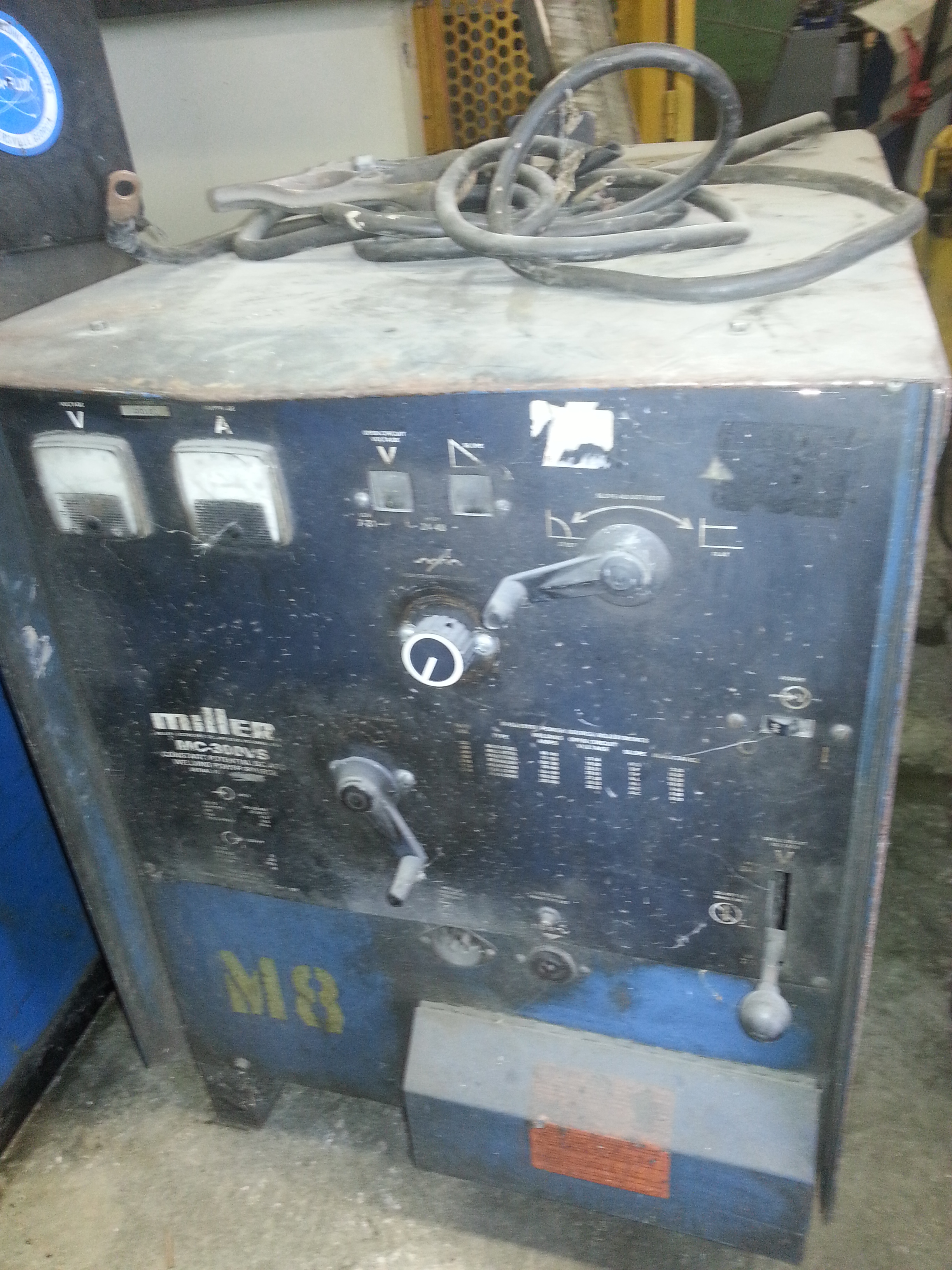 1 - PREOWNED MILLER CC AC/DC POWER SOURCE, MODEL #: MC300VS, <br>S/N: JF909910