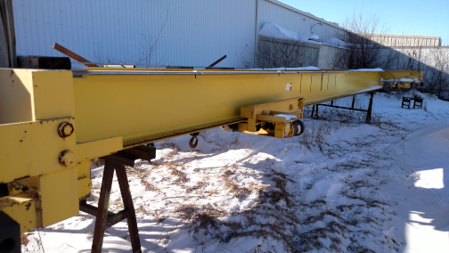 (1) PREOWNED NORTH AMERICAN INDUSTRIES 5 TON UNDER HUNG CRANE