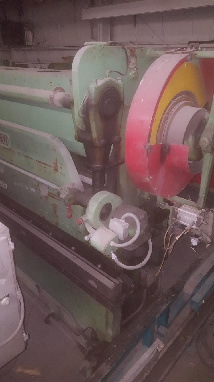 1 - PREOWNED CINCINNATI 10 ft X 90 TON MECHANICAL PRESS BRAKE, <br>MODEL #: 50-8, S/N: 18466, YEAR: 1946