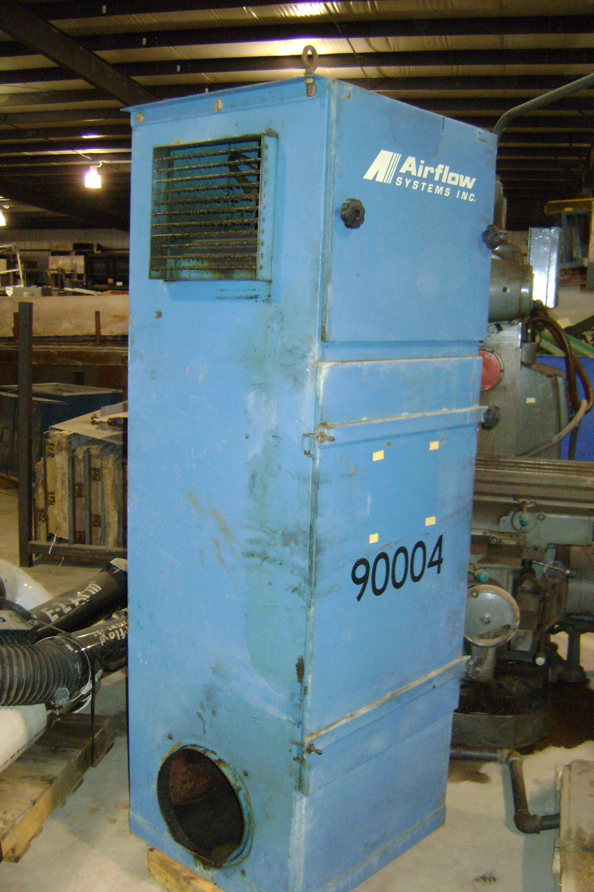(1) PREOWNED AIRFLOW SYSTEMS MIST COLLECTOR, MODEL 2400VOM, <br>S/N 244300, YEAR 1997