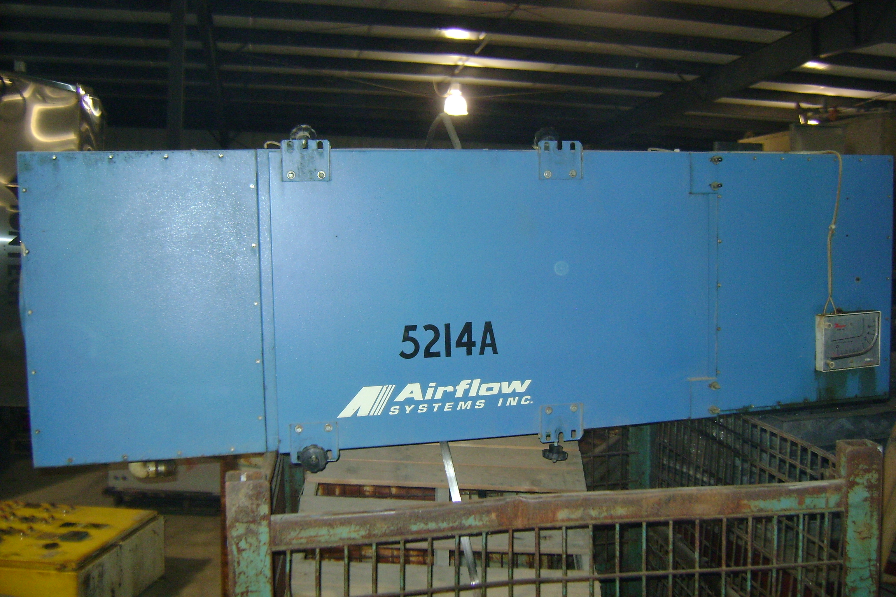 (1) PRE-OWNED AIRFLOW SYSTEMS AIR CLEANER <br>MODEL F90