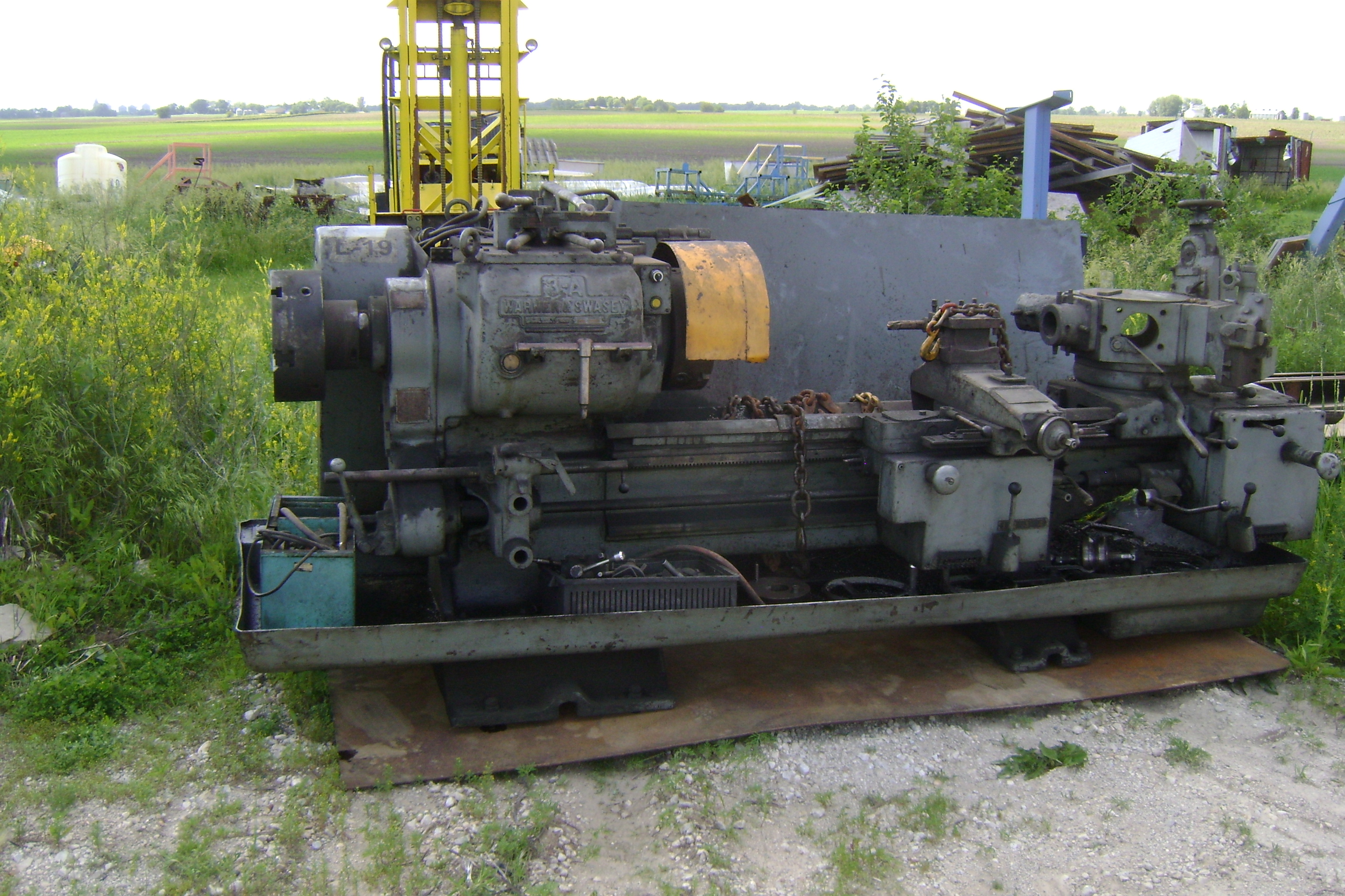 (1) PREOWNED WARNER SWASEY TURRET LATHE 3A M-1950