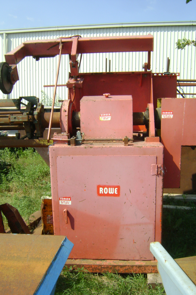 (1) PRE-OWNED ROWE POWERED ROLL 10,000 LBS MODEL 10030-DSL