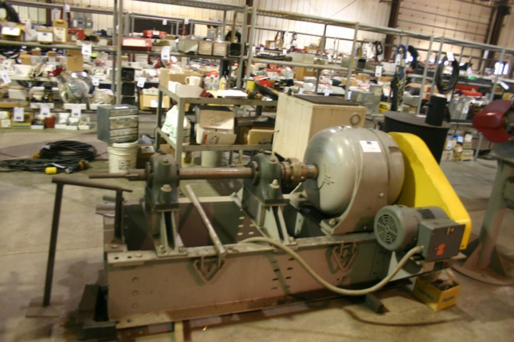 (1) PRE-OWNED LARGE 50:1 GEAR REDUCER