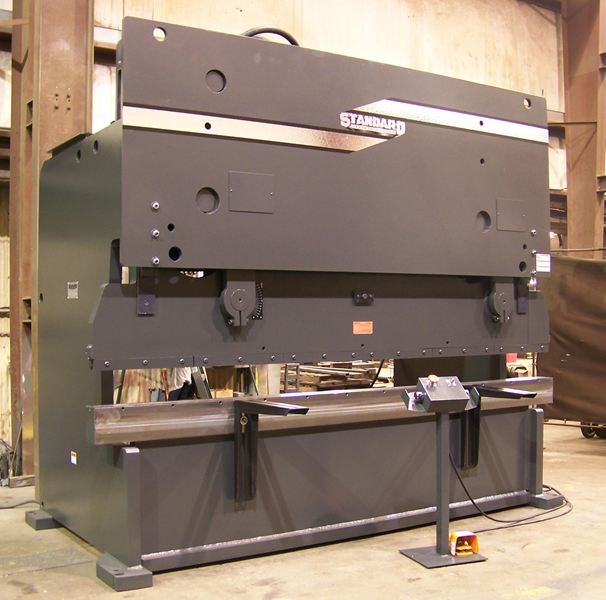 (1) NEW STANDARD HYDRAULIC PRESS BRAKE, MODEL #: AB250-12
