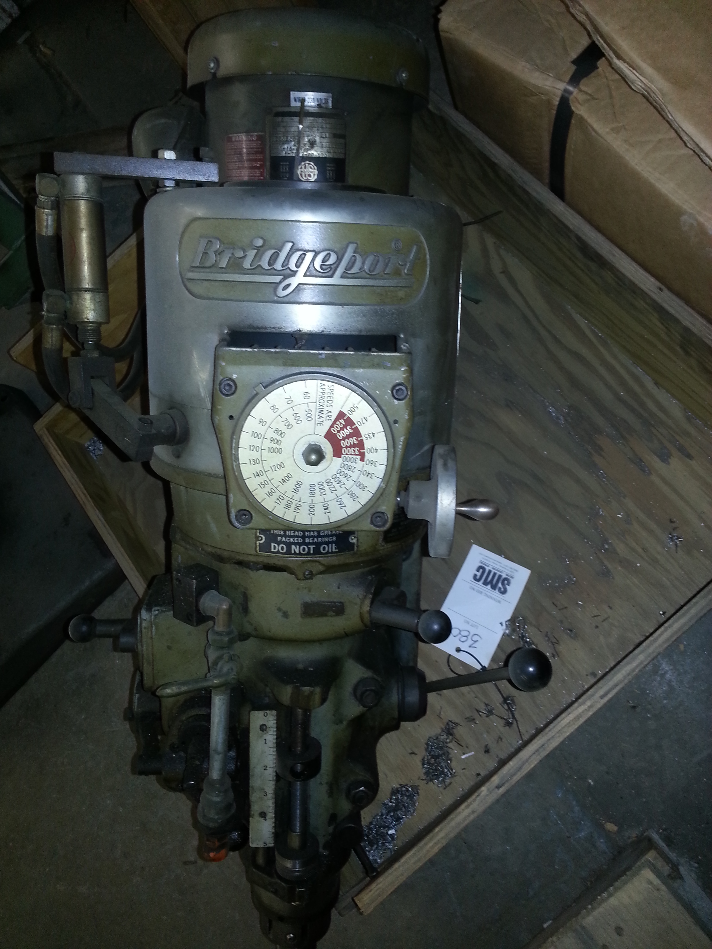 1 - PREOWNED BRIDGEPORT SERIES 1 HEAD ONLY