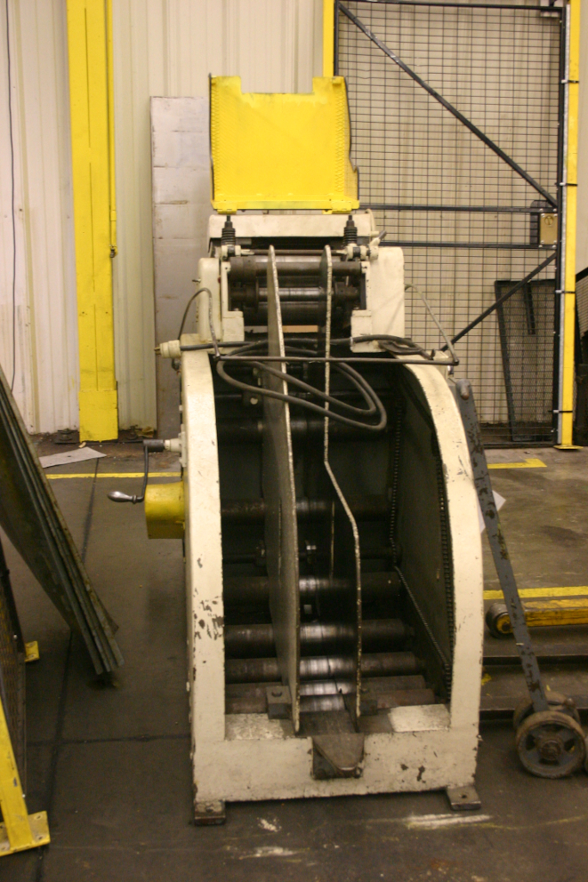 (1) PREOWNED LITTELL 2000LBS COIL CRADDLE, MODEL 412-C20