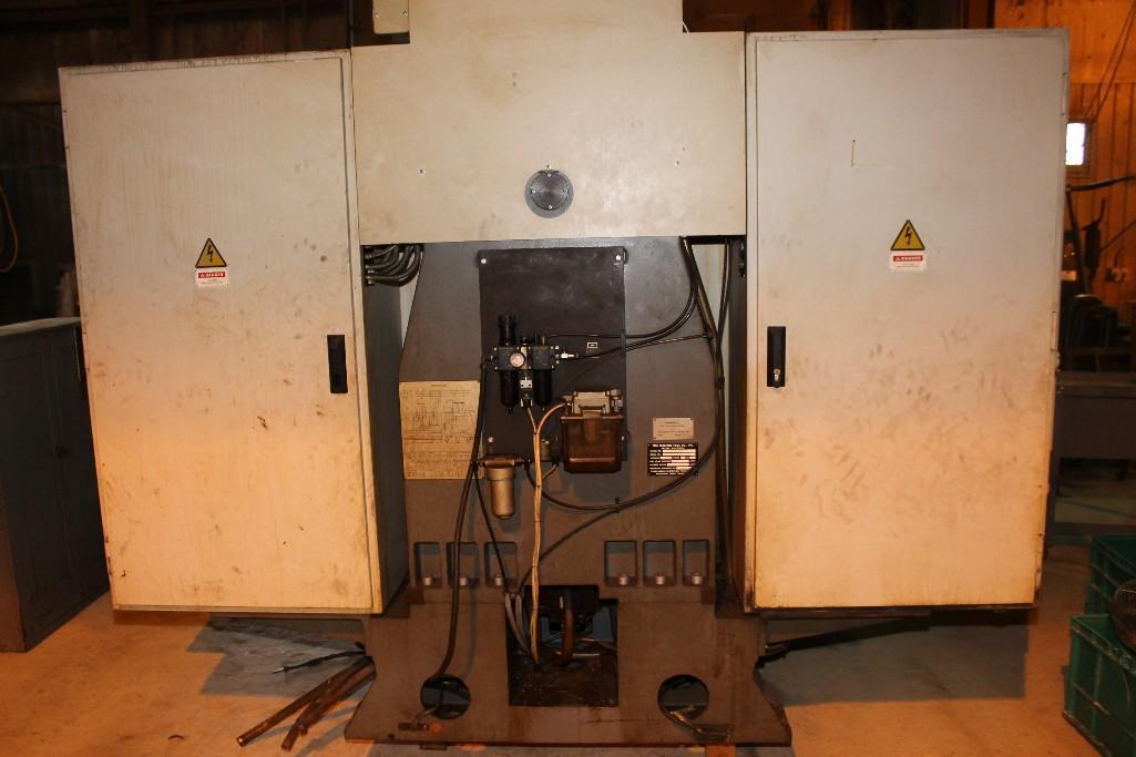 (1) PREOWNED TREE VERTICAL MACHINING CENTER, MODEL #: VMC-1260E, S/N: 9-14-93-2066, YEAR: 1999