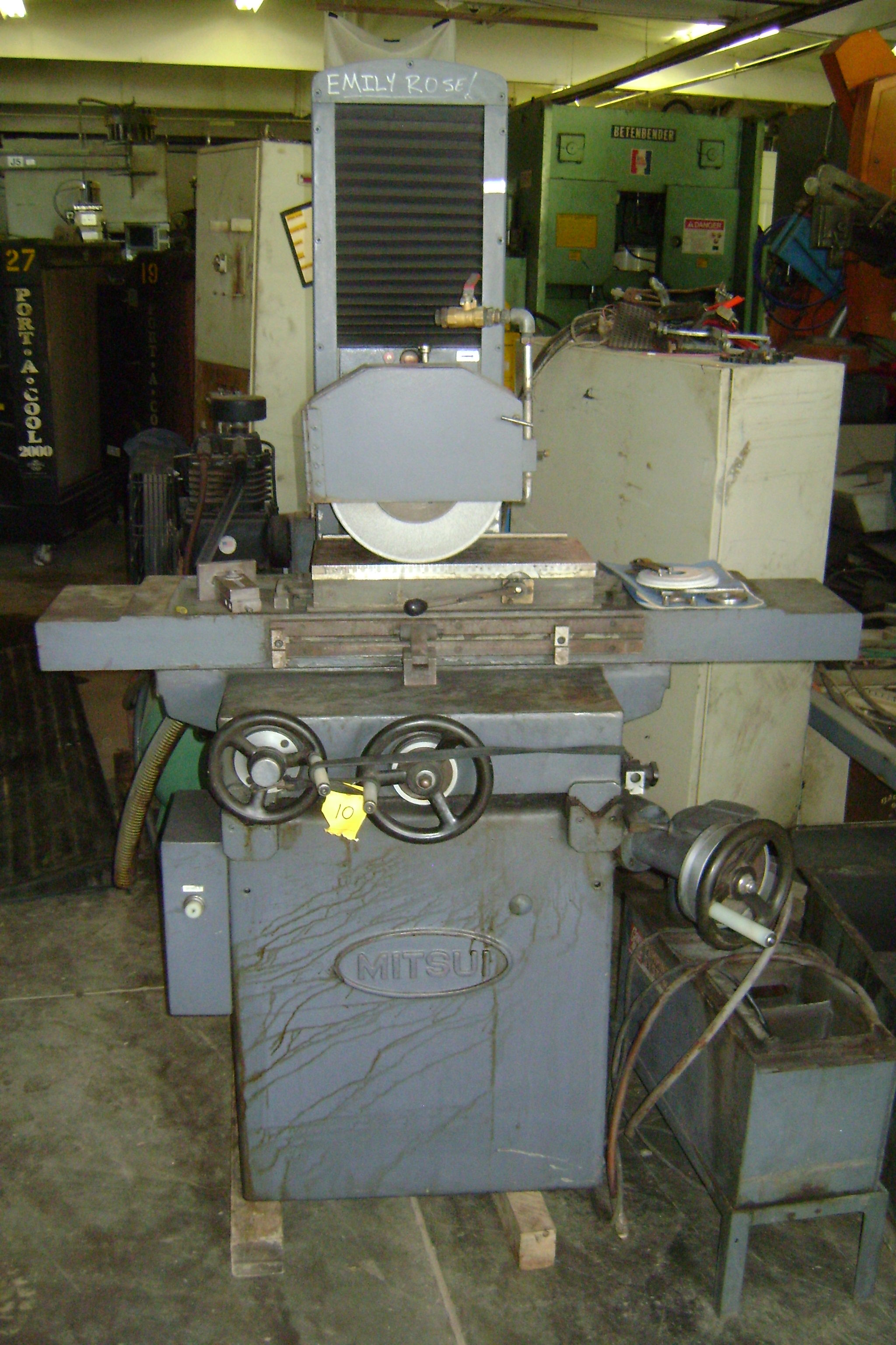 (1) PREOWNED MITSUI SURFACE GRINDER, MODEL 250MH, SN <br>79082108, <br>YEAR 1979