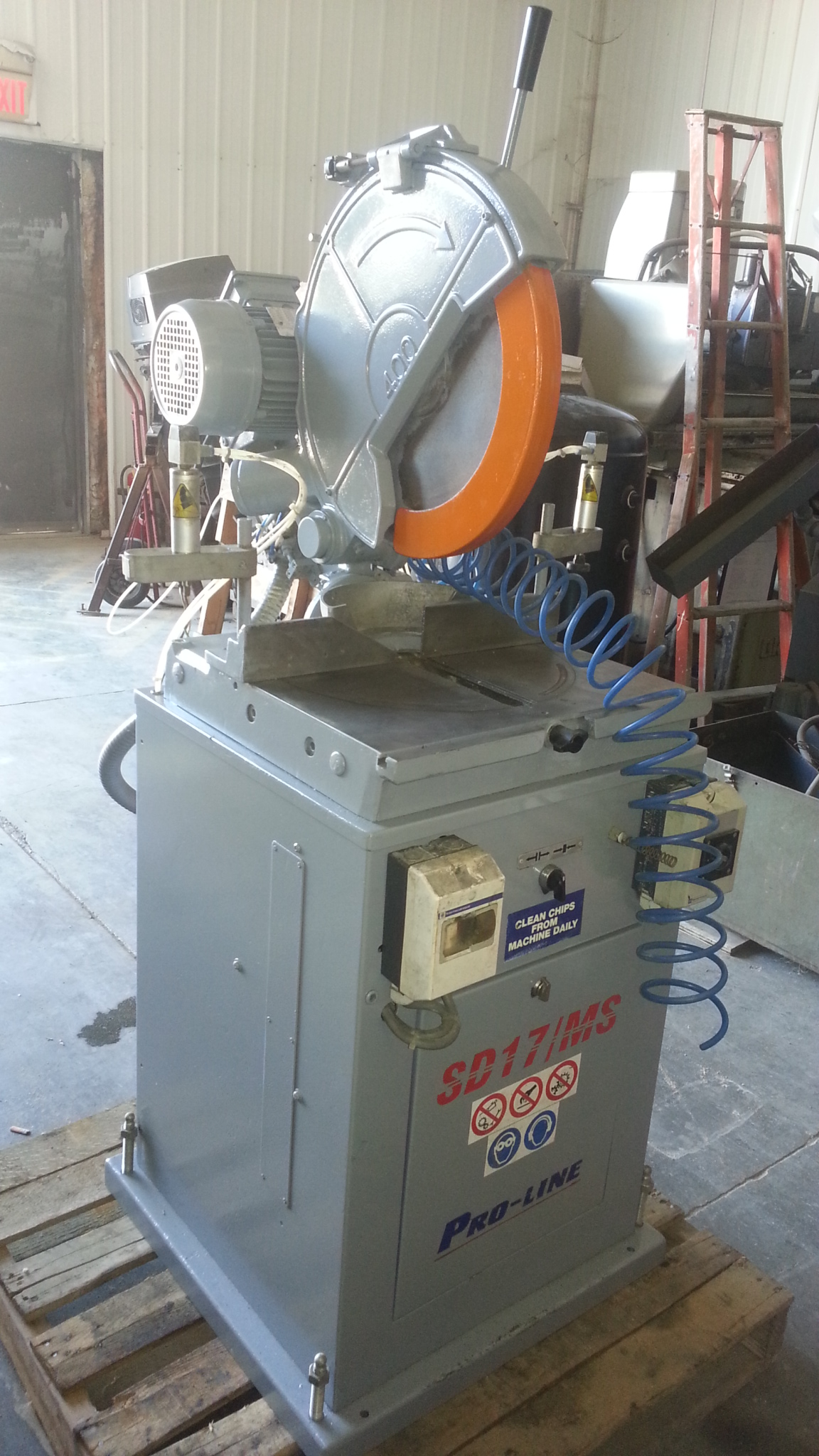 (1) PREOWNED PRO-LINE MITRE SAW, MODEL SD17MS