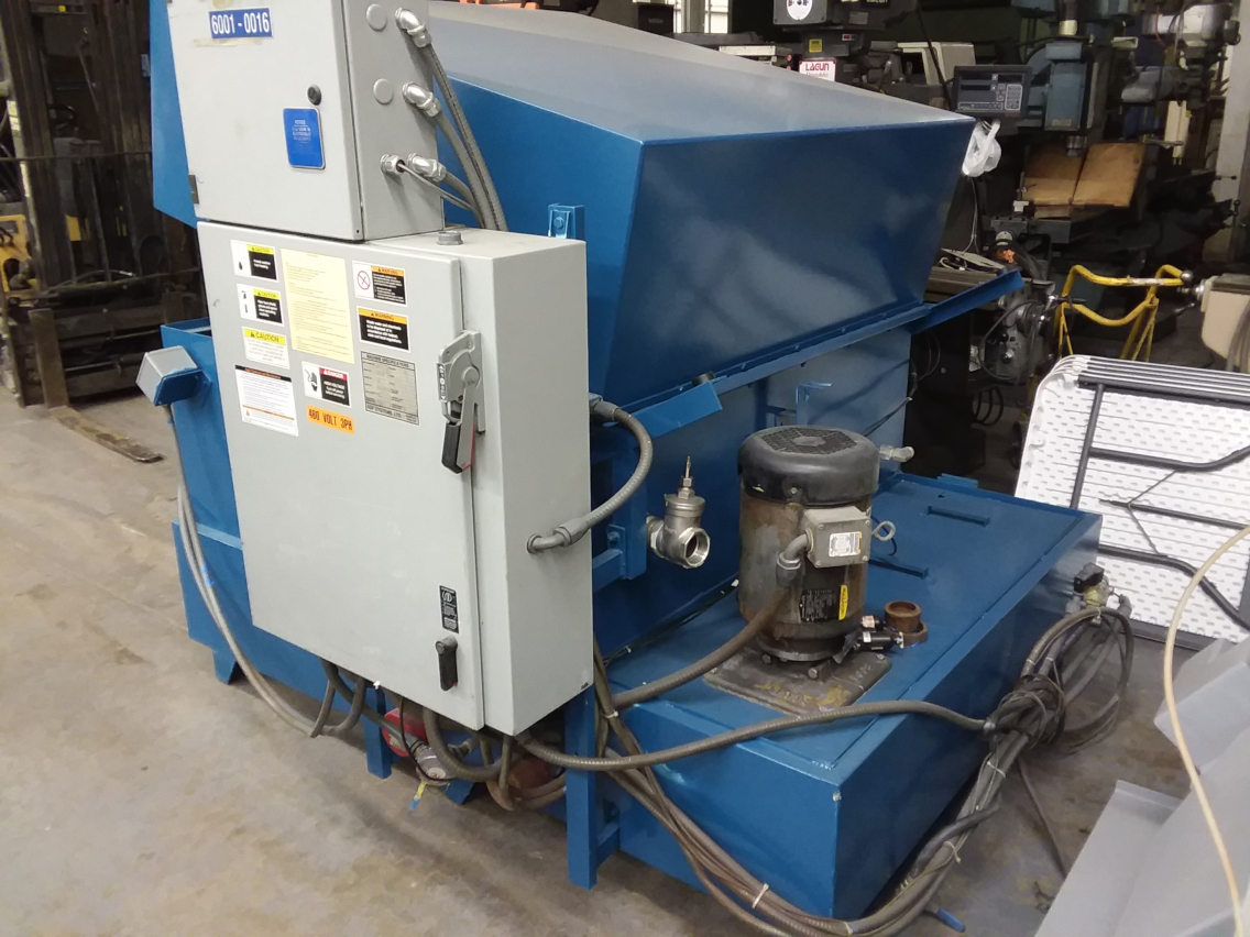 (1) PREOWNED 2005 ADF PARTS WASHER, MODEL 200, S/N 502-4779