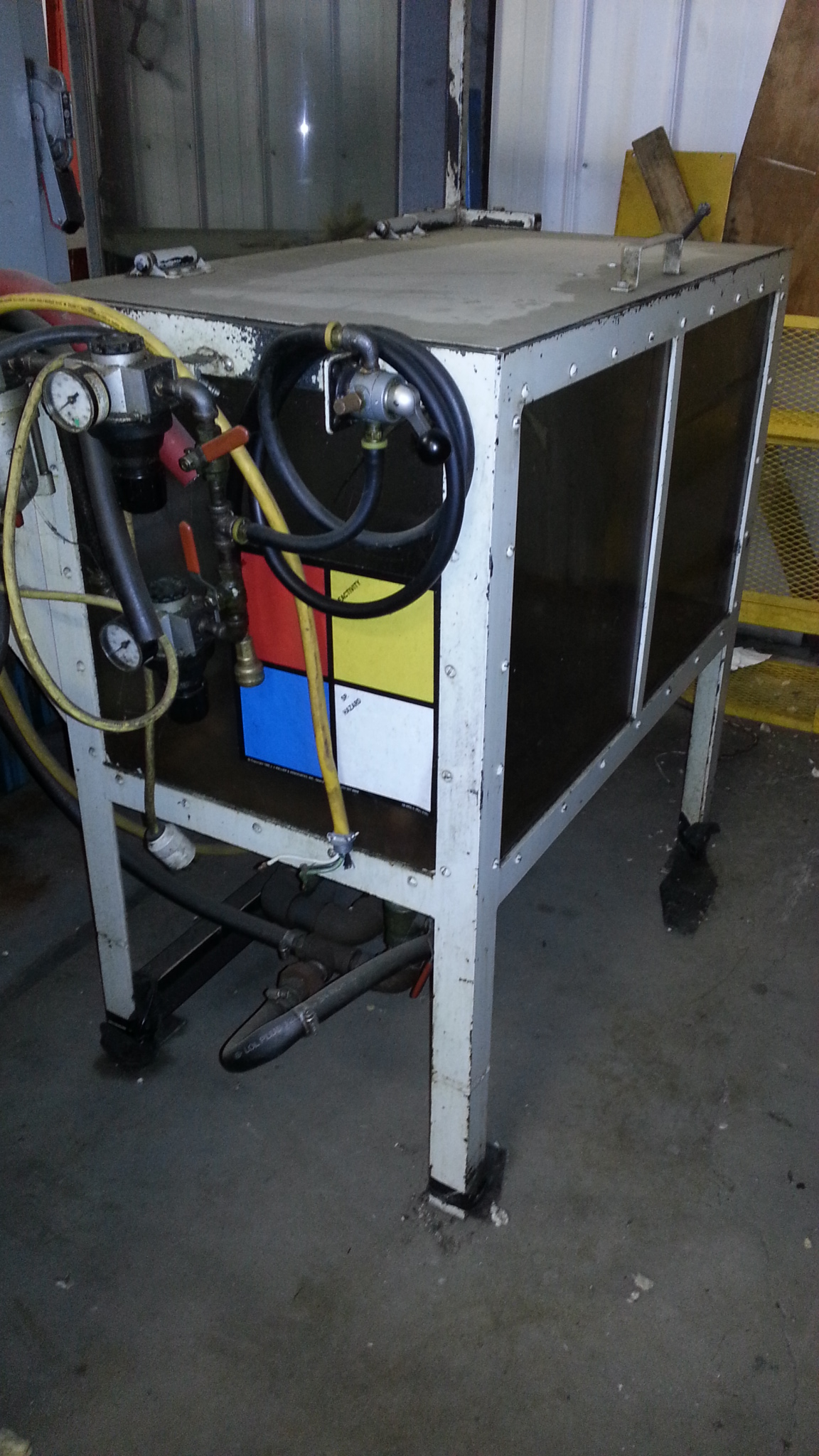 (1) PREOWNED PARTS WASHER