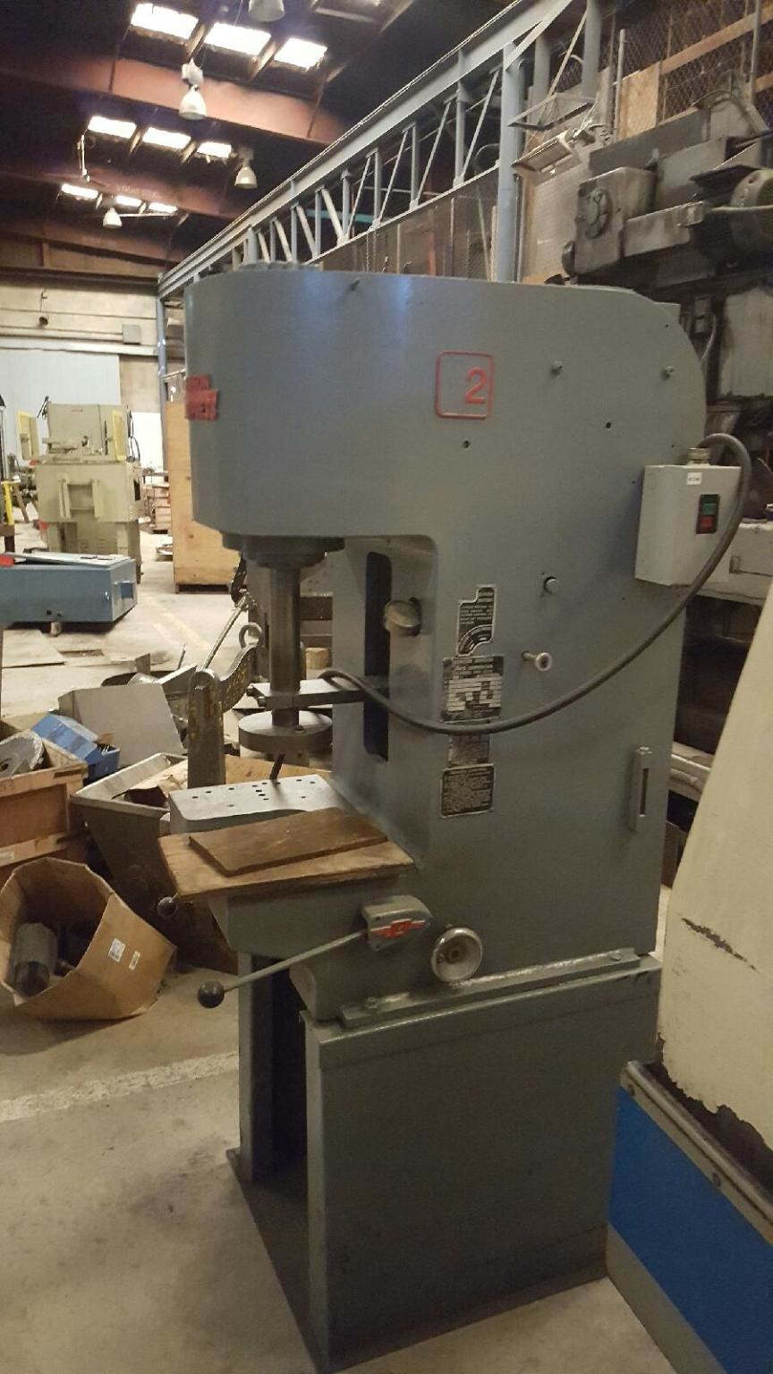 1 - PREOWNED DENISON C-FRAME HYDRAULIC PRESS, 8 TON,<br>MODEL #: S087MC261D267C221A59S206 S/N: 20886, YEAR: 1967