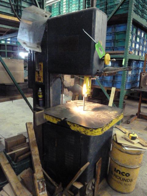 (1) PREOWNED GROB VERTICAL BAND SAW