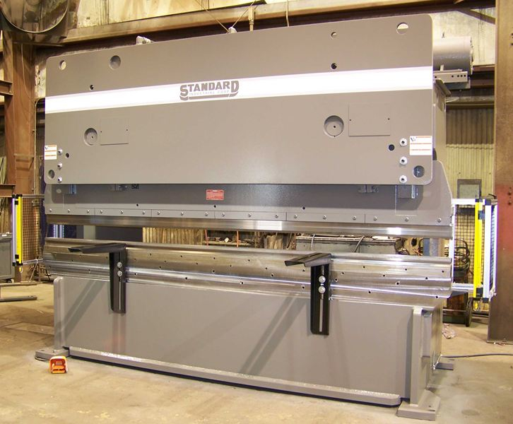 (1) NEW STANDARD HYDRAULIC PRESS BRAKE, MODEL #: AB200-12