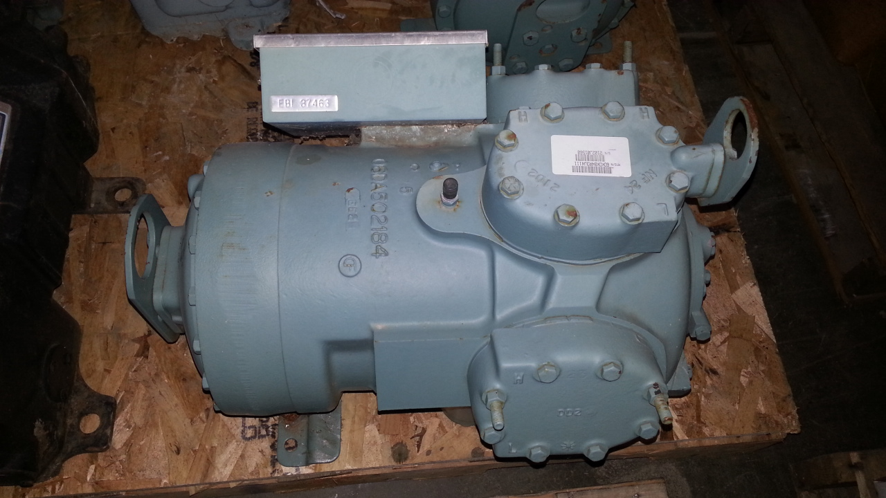 1 - PREOWNED CARLYLE SEMI-HERMETRIC RECIPROCATING <br>COMPRESSOR, MODEL #: 06DR228, S/N: 2102J01560