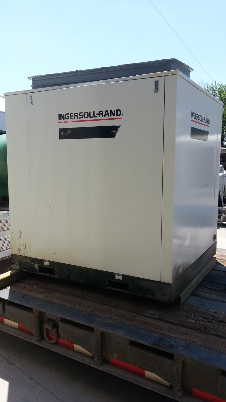 1 - PREOWNED INGERSOLL RAND AIR COMPRESSOR, MODEL #: SSR-EP75, S/N: CK1468U98313