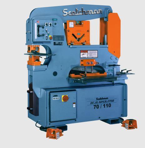 (1) NEW SCOTCHMAN IRONWORKER, MODEL DO 70/110-24M