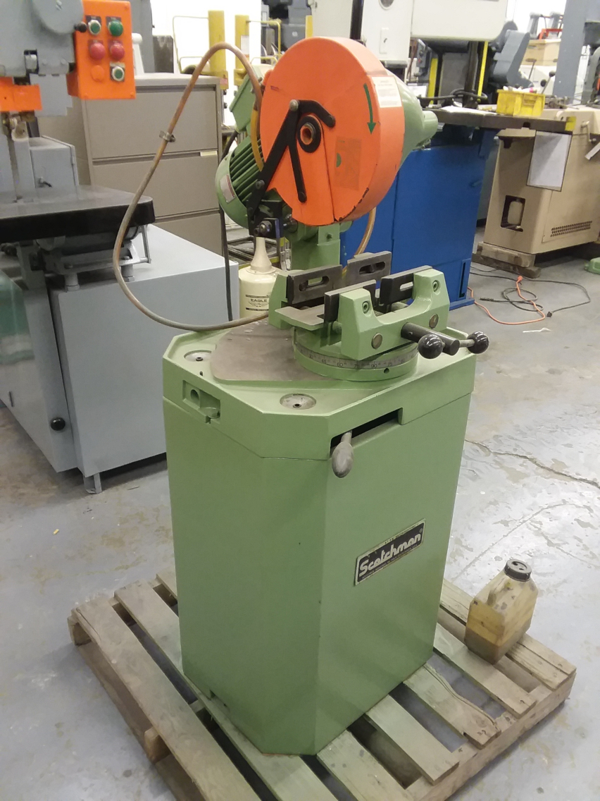 (1) PREOWNED SCOTCHMAN CUT-OFF SAW, MODEL CPO 10, S/N <br>107111, YEAR 2011