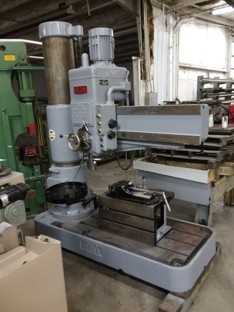 (1) PREOWNED IKEDA RADIAL ARM DRILL, MODEL RM 1300, S/N <br>74166