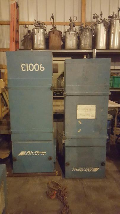 (1) PREOWNED AIRFLOW SYSTEMS MIST COLLECTOR, MODEL <br>2400VOM, S/N 245166, YEAR 1999