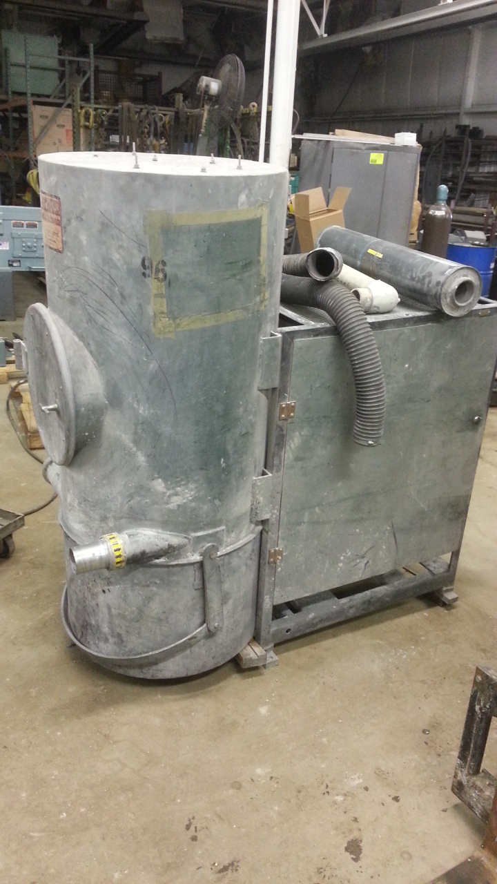 (1) PREOWNED ARCO STATIONARY VACUUM CLEANER, MODEL PB-15, <br>S/N 910793