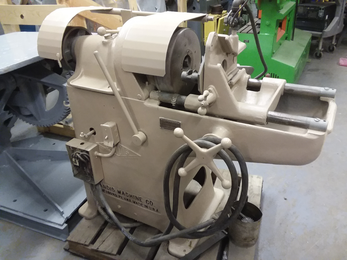 (1) PREOWNED LANDIS 2 in  THREADING MACHINE