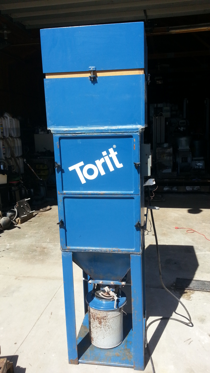 (1) PREOWNED TORIT DUST COLLECTOR, MODEL #: 64 CAB,<br>S/N: IG491542