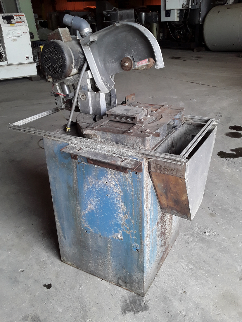 (1) PREOWNED CTD COLD SAW, MODEL #: PF200M, S/N: 107R