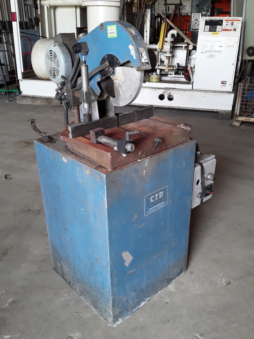(1) PREOWNED CTD DOUBLE MITRE SAW, MODEL #: M225R, S/N: 5400