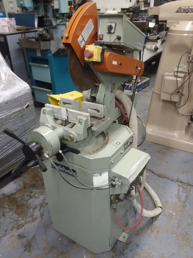 (1) PREOWNED SCOTCHMAN COLD SAW, MODEL #: 350NF/PK/PD,<br>S/N: 1495NF1000, YEAR: 2000