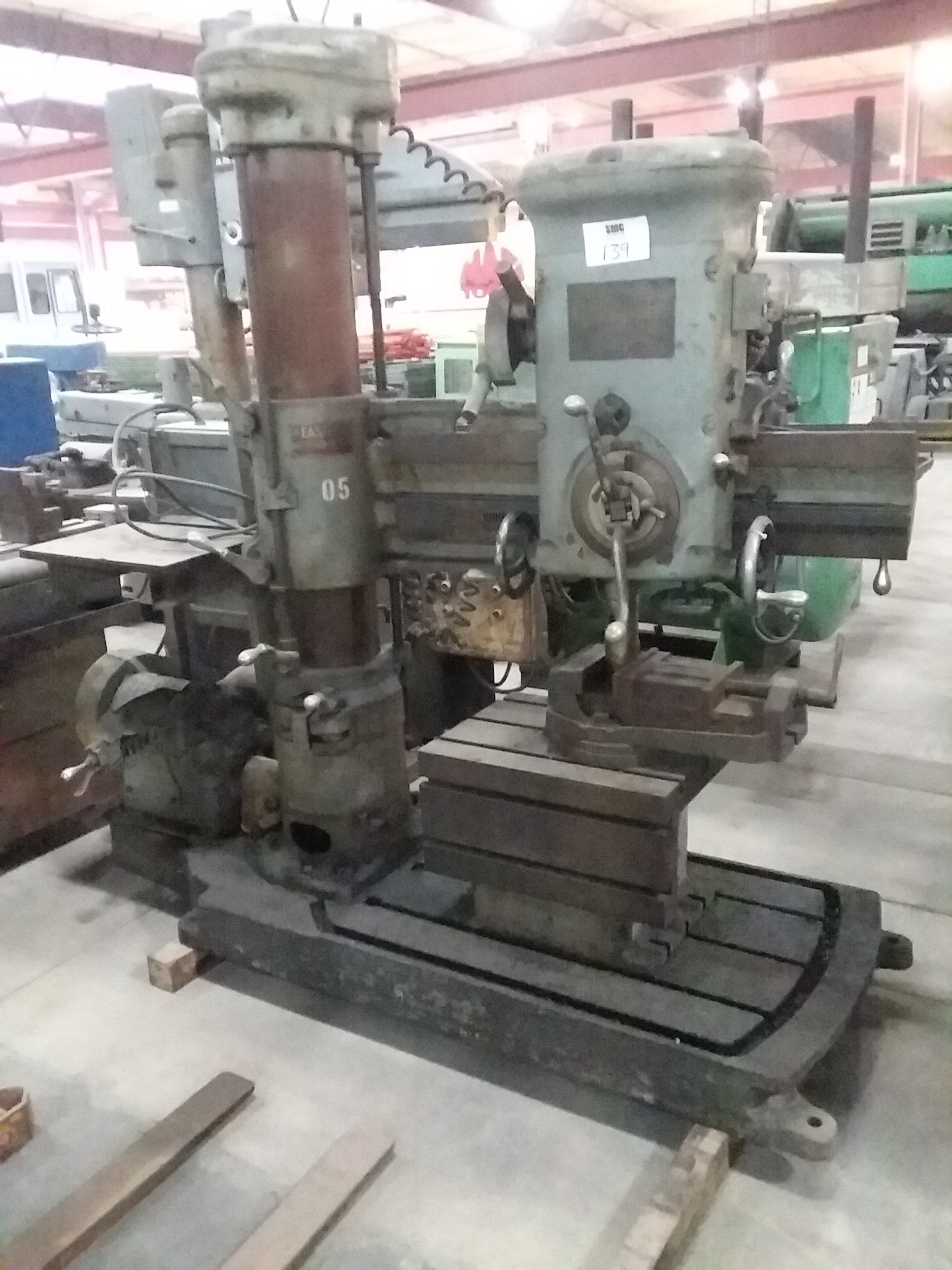(1) PREOWNED EASTERN RADIAL ARM DRILL
