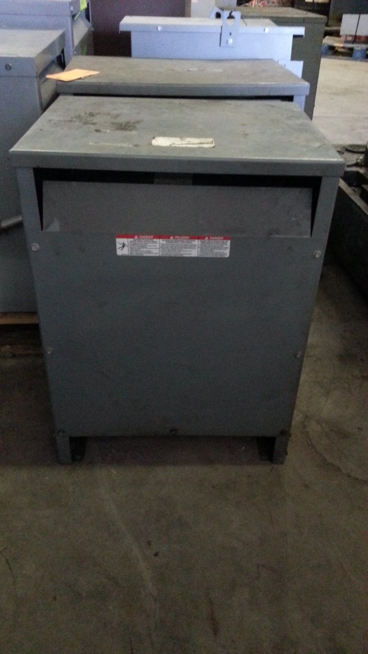 (1) PREOWNED SQUARE C 3PH TRANSFORMER, S/N 15T3H