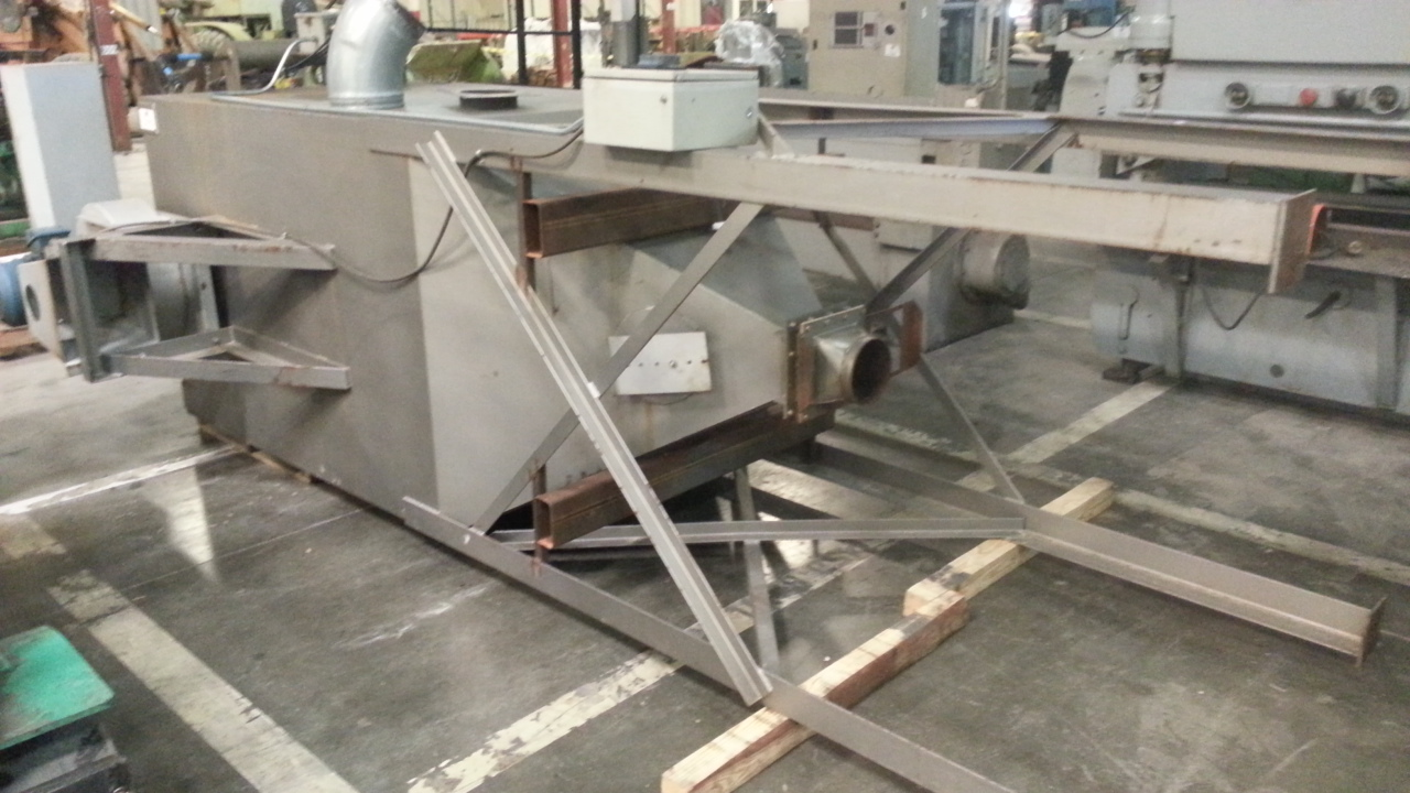 (1) PREOWNED AUTOMATED INGREDIENT SYSTEMS DUST COLLECTOR, <br>60 in  X 60 in  X 16 FT TALL