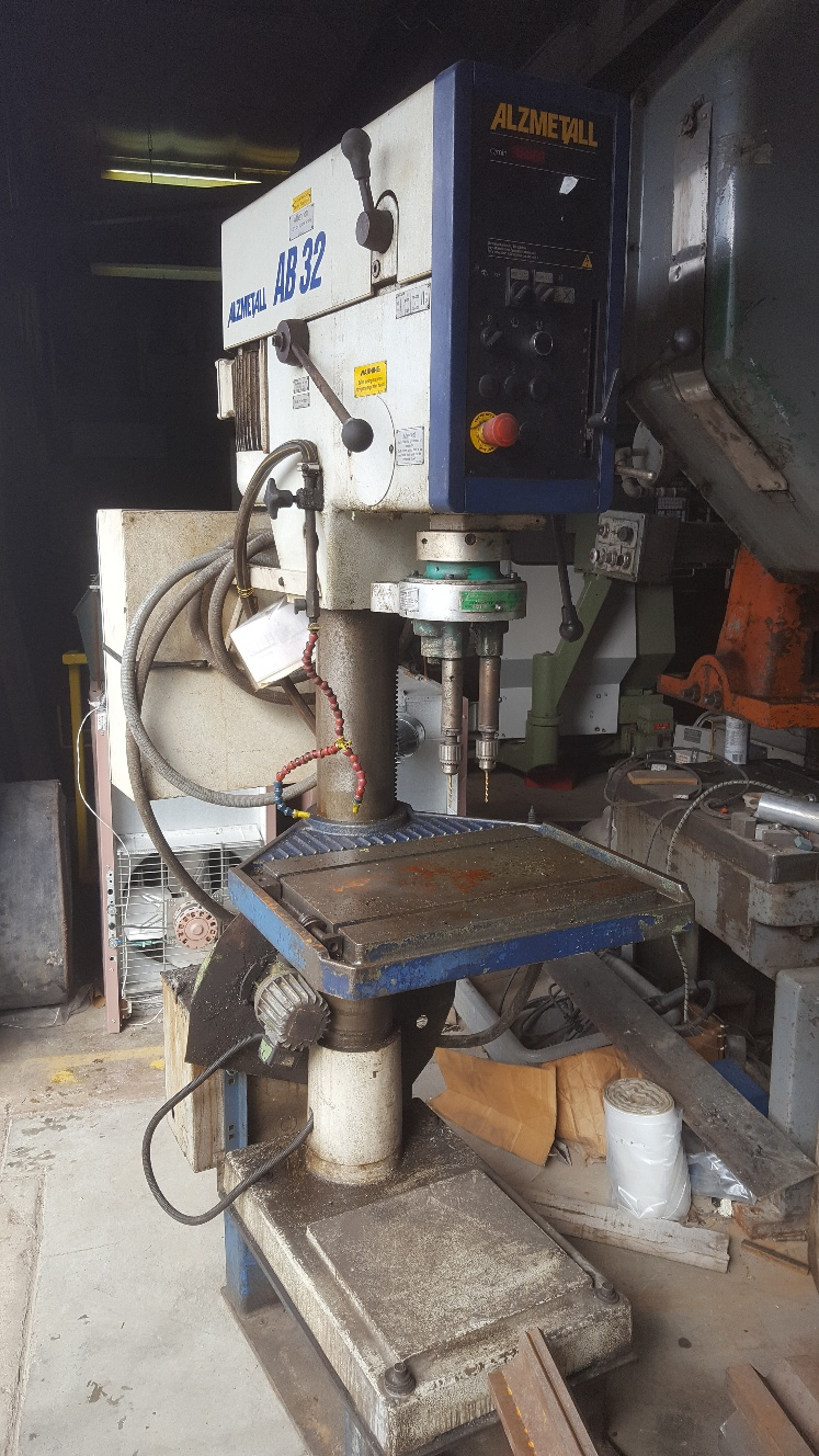 1 - PREOWNED WILLIS-ALZMETALL DRILL, MODEL AB 32/SV, <br>S/N: 244, YEAR 2000