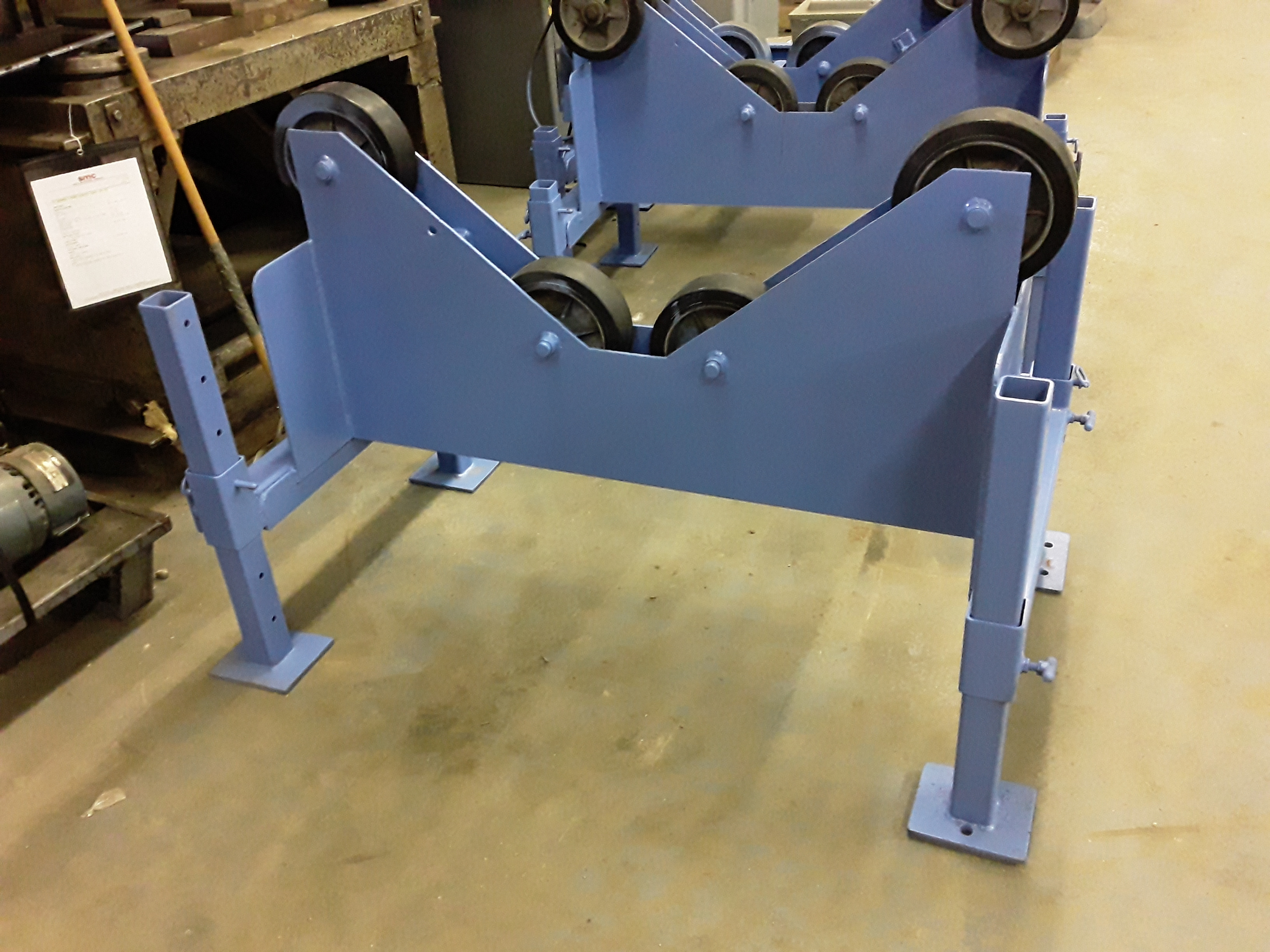 (1) PREOWNED POWERED TURNING ROLL WELDING POSITIONER