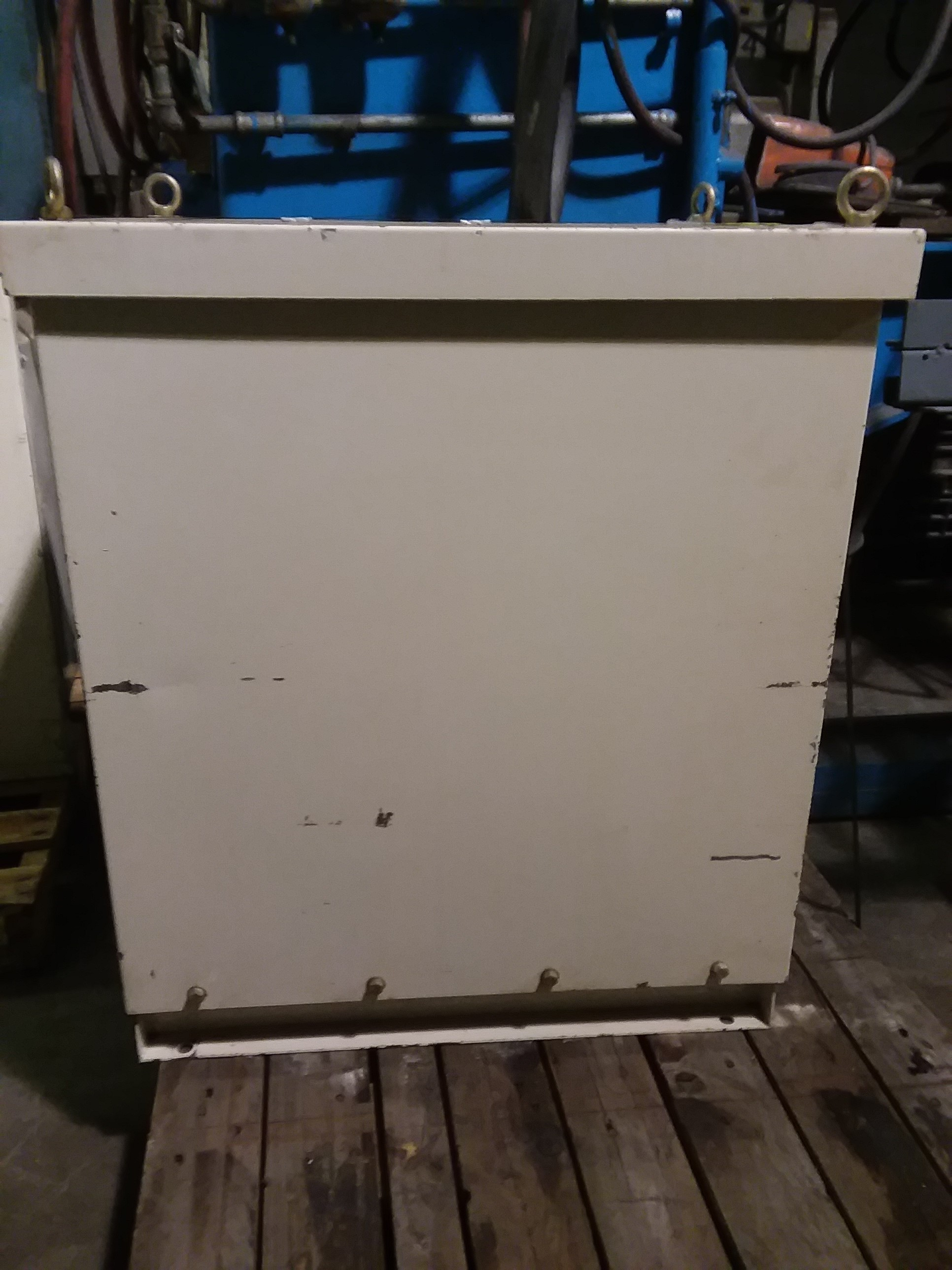 (1) PREOWNED GOMI ELECTRIC 3 PHASE TRANSFORMER, 60 KVA
