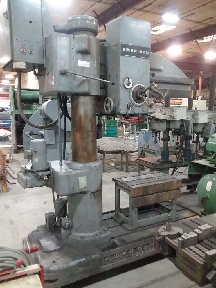 (1) PREOWNED AMERICAN TOOL WORKS RADIAL ARM DRILL