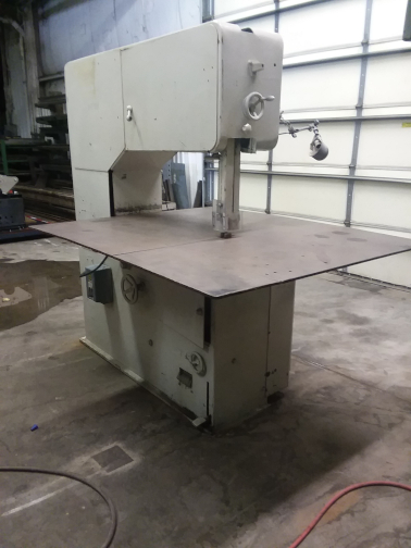 (1) PREOWNED GROB VERTICAL BANDSAW