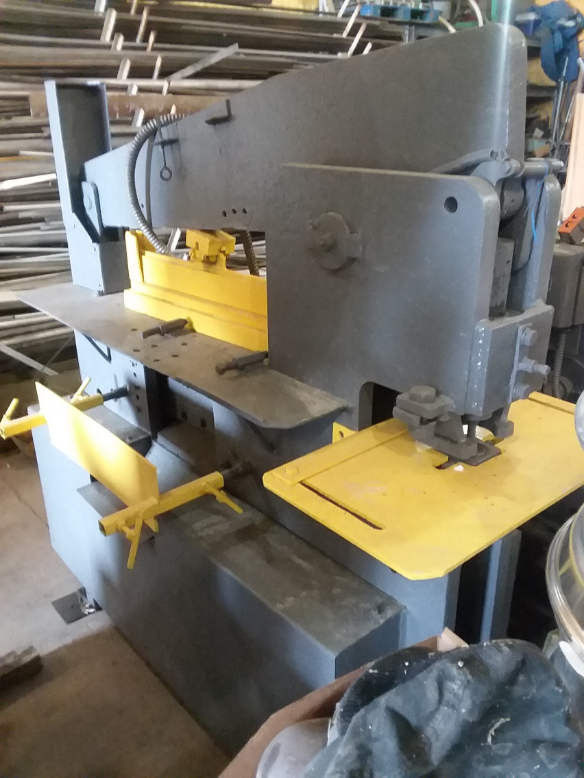 1 - PREOWNED EXCEL MFG HYDRAULIC IRONWORKER, MODEL #: E7575, <br>S/N: 6003