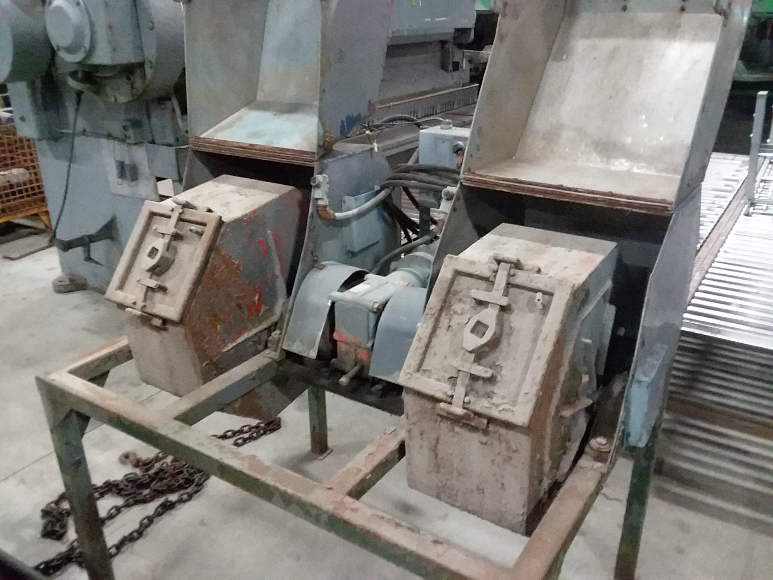 (1) PREOWNED MORSE DUAL PARTS TUMBLER, MODEL 50