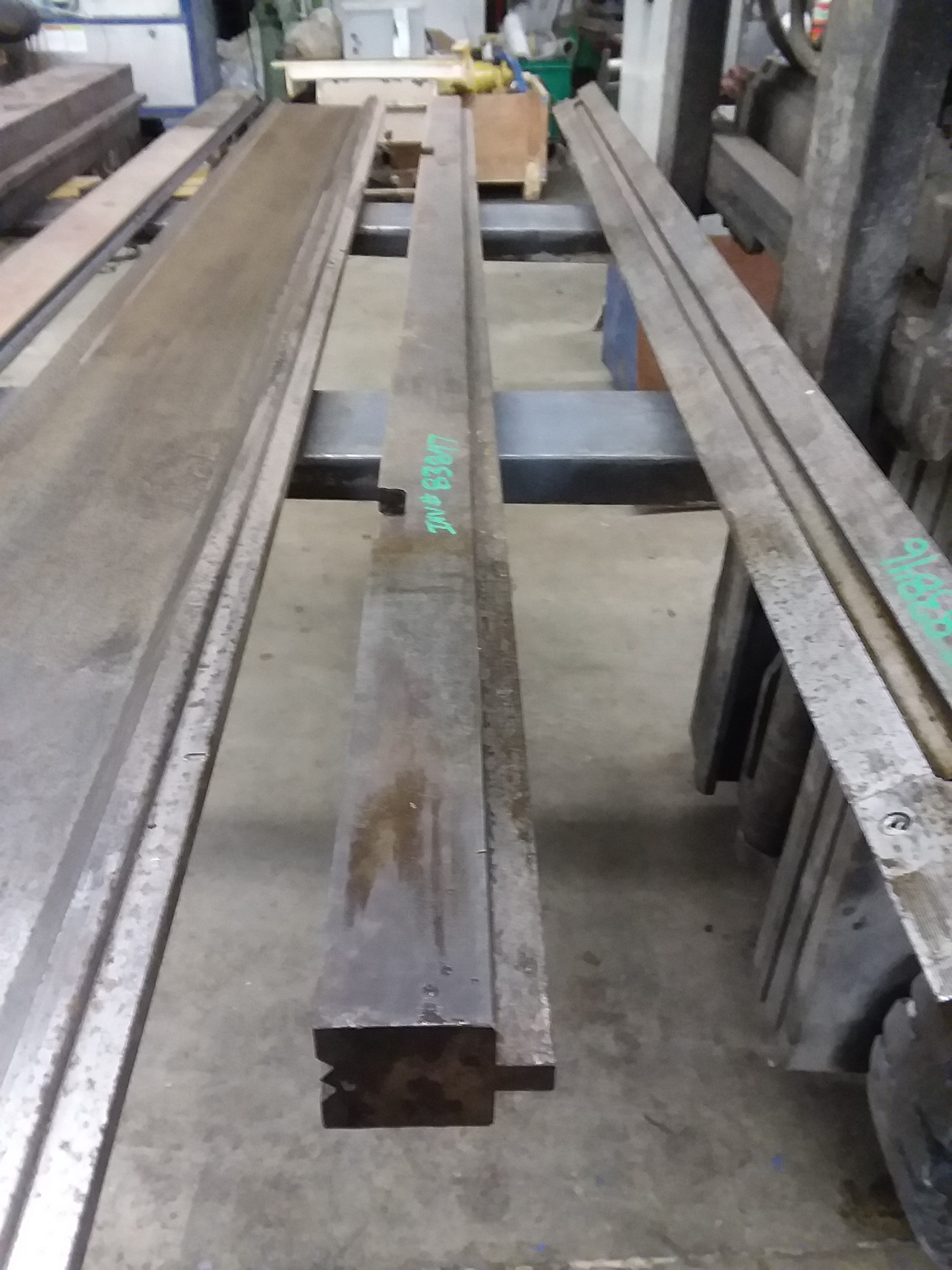 (1) PREOWNED CORRUGATION DIE, 1-7/8 in  WIDE X 72 in  LONG X 2 in  <br>HIGH