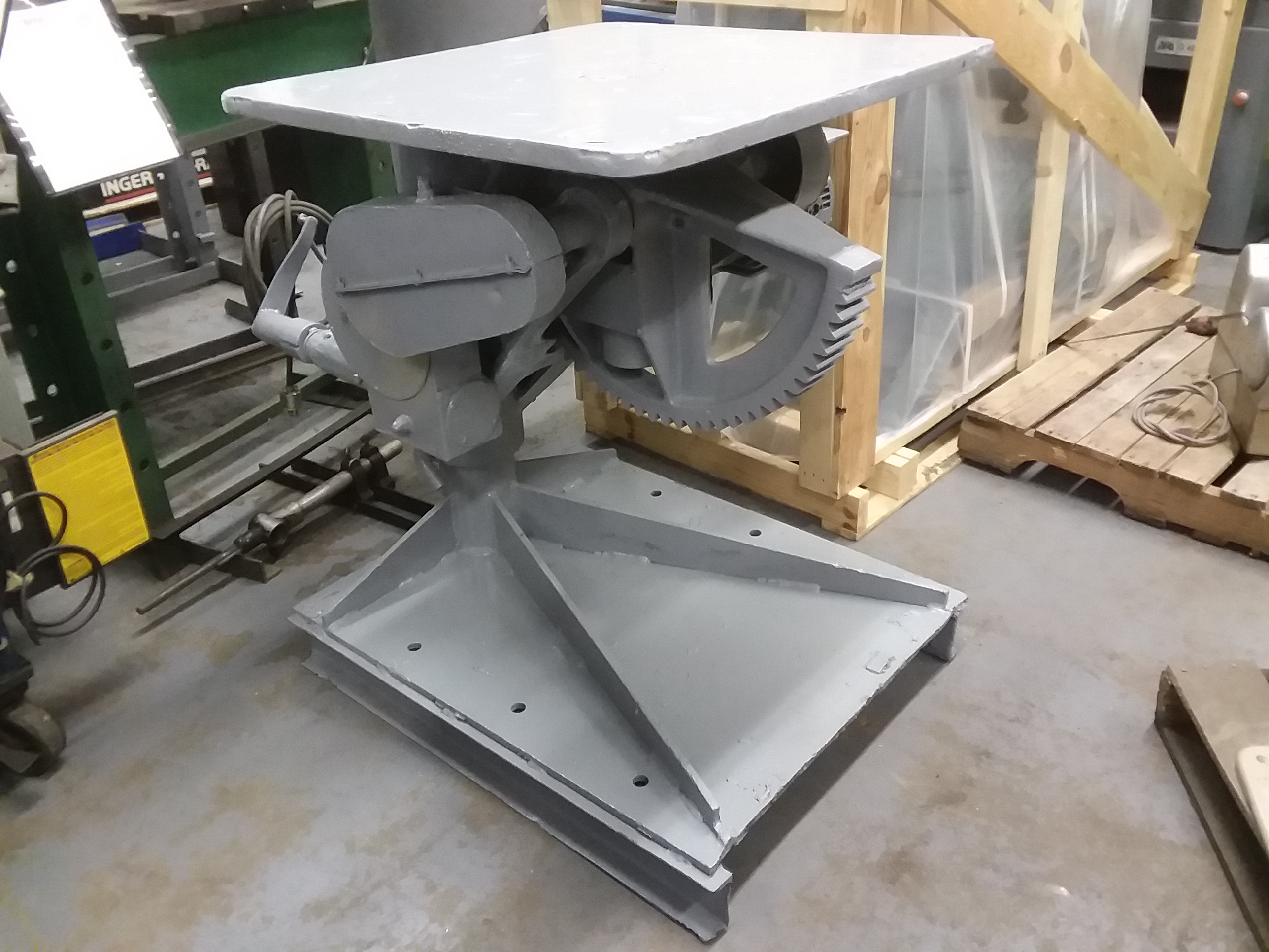 (1) PREOWNED WELDING POSITIONING TABLE