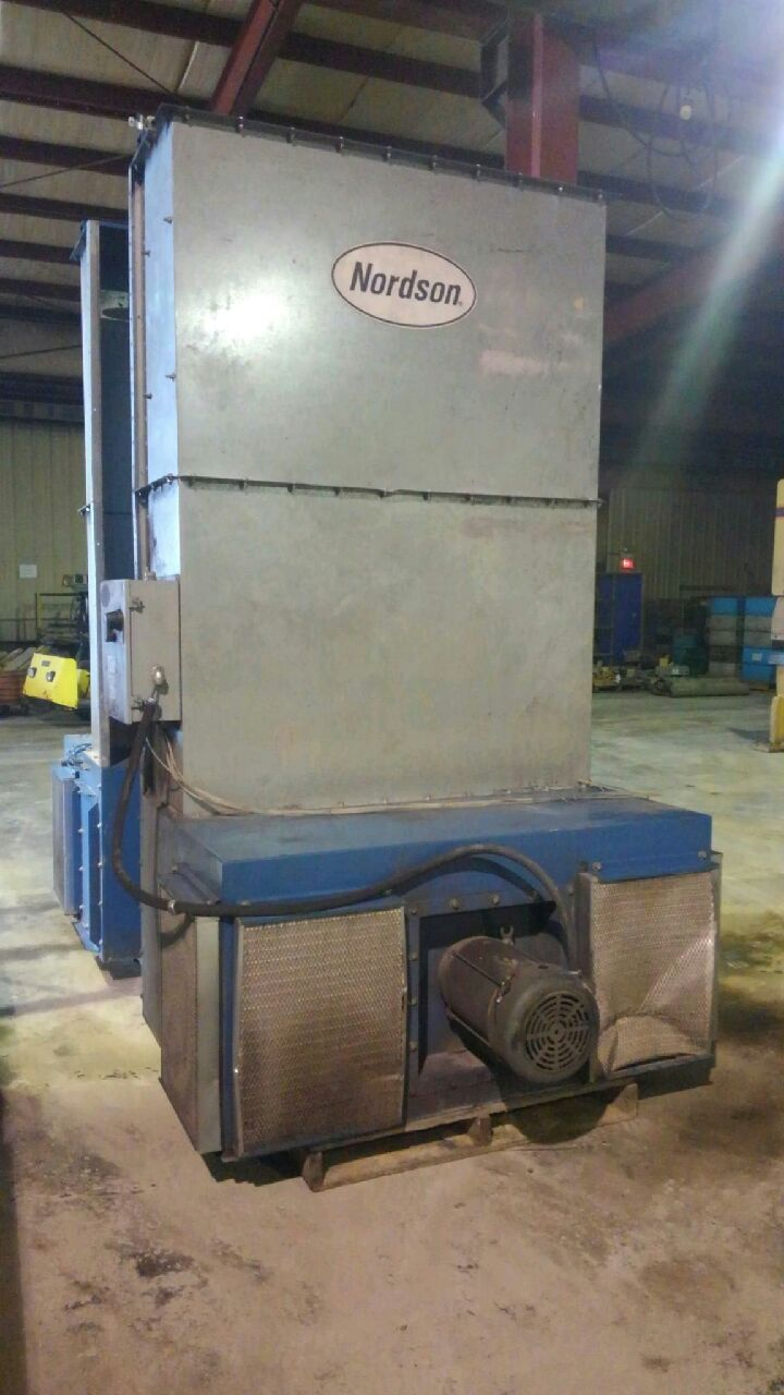 1 - PREOWNED NORDSON ECONO-COAT PAINT BOOTH<br>MODEL#: ECVC 6000, S/N: 4013443-2