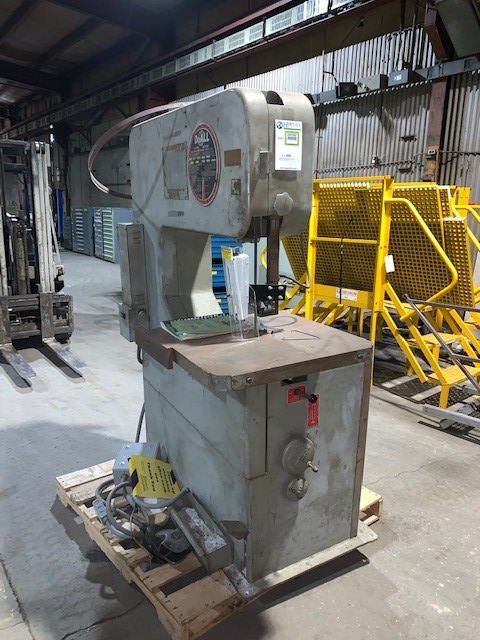 1 - PREOWNED DOALL VERTICAL BAND SAW, MODEL #: 3012-U,<br>S/N: 147-67995