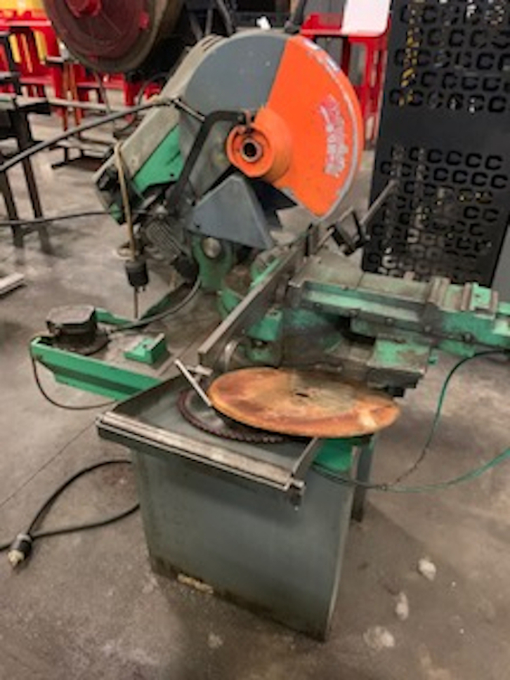 1 -  PREOWNED PEDRAZZOL SUPER BROWN 350 METAL COLD SAW,<br>MODEL #: S BROWN 350/60 MP, S/N: 28538, YEAR: 1997