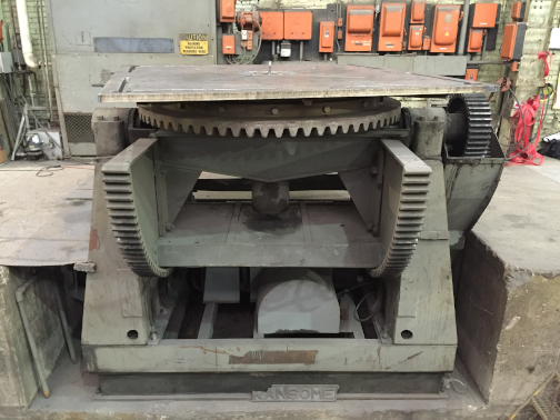 1 - PREOWNED RANSOME WELDING POSITIONER, MODEL #: 400P, <br>S/N: 51324