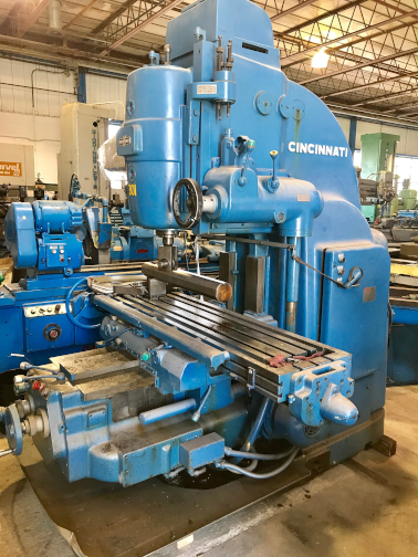 1 - PREOWNED CINCINNATI VERTICAL MILL, MODEL #: 315-15, <br>S/N: 4A3V5P-8, YEAR: 1965