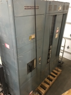 1 - PREOWNED SQUARE D ELECTRICAL SWITCH GEAR BOX